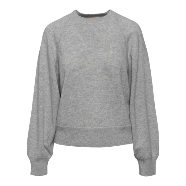Grey crewneck sweater                                                                                                                                 Loulou Studio PEMBA back