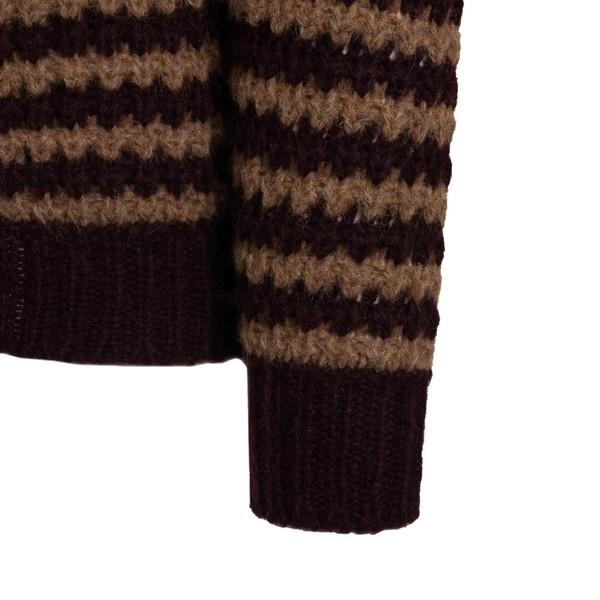 Bi-color striped knitted jumper                                                                                                                        ROBERTO COLLINA