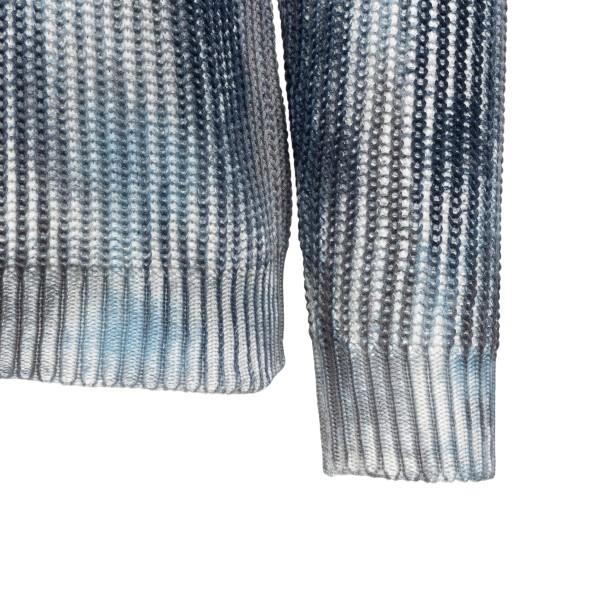 Maglione multicolore effetto tie-dye                                                                                                                   ROBERTO COLLINA                                    ROBERTO COLLINA