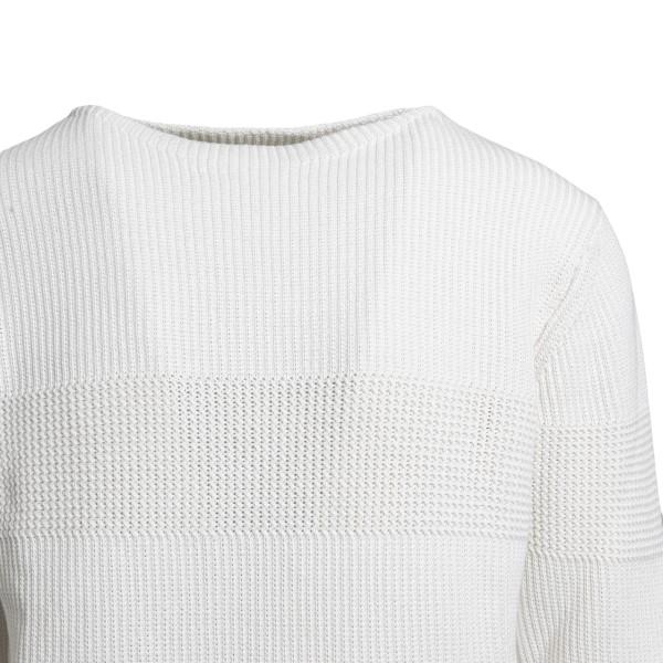 Maglione bianco classico                                                                                                                               BALLANTYNE                                         BALLANTYNE