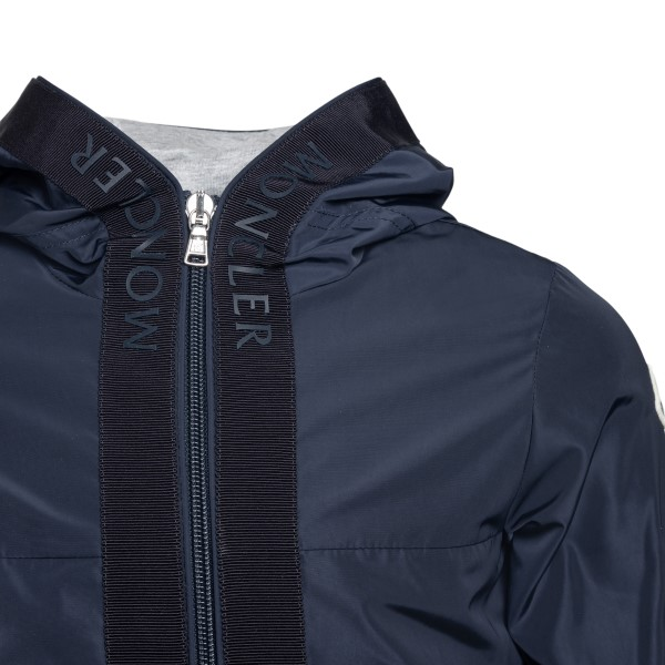 Blue jacket with band detail                                                                                                                           MONCLER