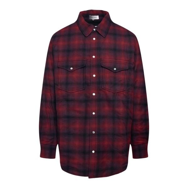 Red checked shirt                                                                                                                                     Isabel Marant VE1619 back
