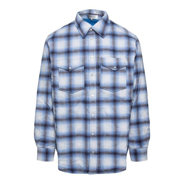 Blue checked shirt                                                                                                                                    Isabel Marant VE1619 back