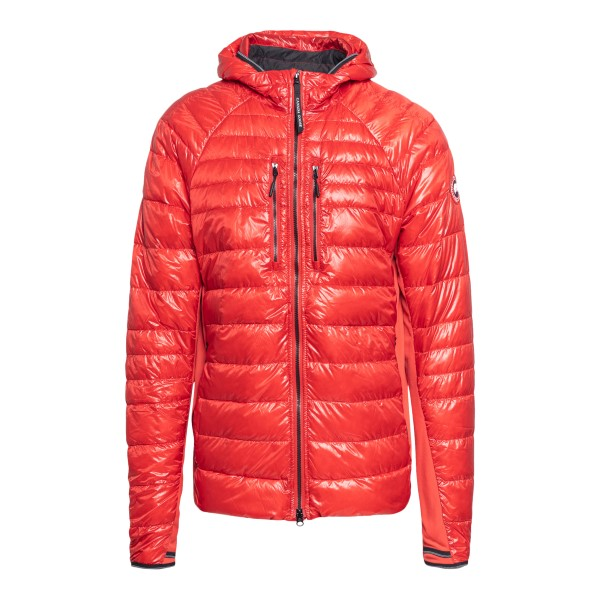 Red down jacket with logo patch                                                                                                                       Canada goose 2712M front
