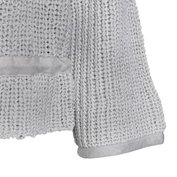 Maglione grigio con coulisse                                                                                                                           EMPORIO ARMANI                                     EMPORIO ARMANI