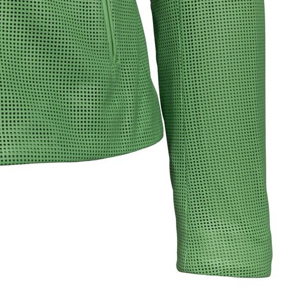 Green biker jacket                                                                                                                                     EMPORIO ARMANI