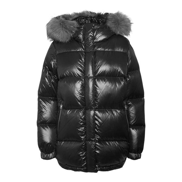 Hooded down jacket                                                                                                                                    Woolrich CFWWOU0584FRU back
