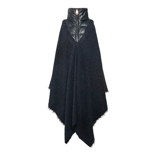 Oversized cape with down detail                                                                                                                       Chloe' CHC21WMA17 back