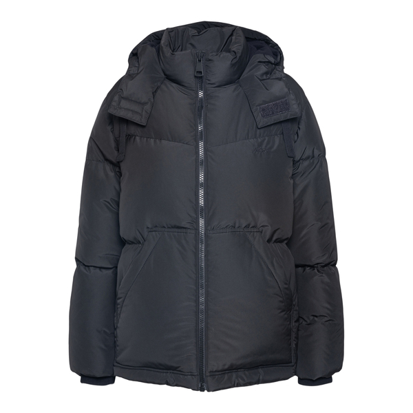Black down jacket with hood                                                                                                                           A.p.c. F30168 back