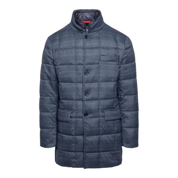 Dark grey down jacket                                                                                                                                 Fay NAM37410530 front