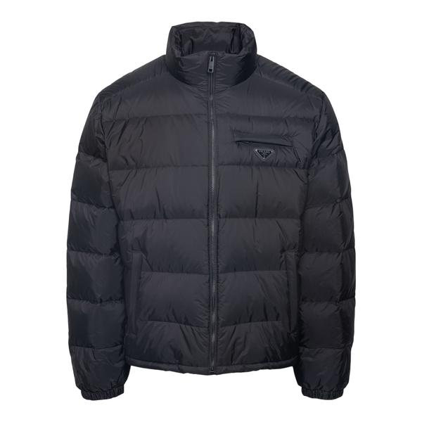 Down jacket with application                                                                                                                          Prada SGB702 back