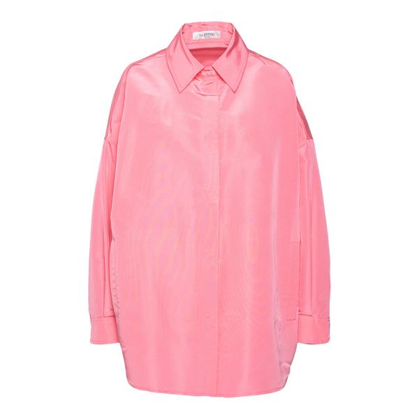 Camicia rosa satinata                                                                                                                                 Valentino VB0CI0K5 retro