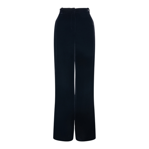 Wide black trousers                                                                                                                                   Alberta Ferretti 0318 back