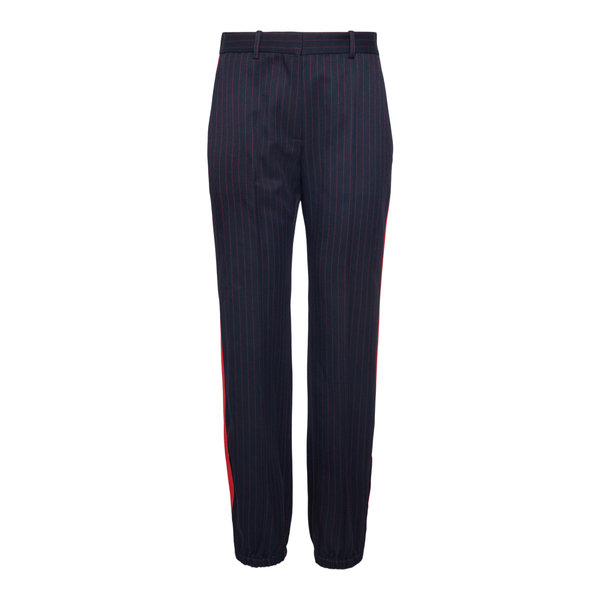 Pantaloni blu a righe                                                                                                                                 Victoria Beckham 1521WTR002884A retro