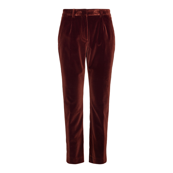 Straight pants in dark red                                                                                                                            Etro 18141 back