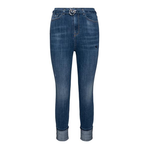 Jeans skinny con logo in vita                                                                                                                         Pinko 1J10P3 retro