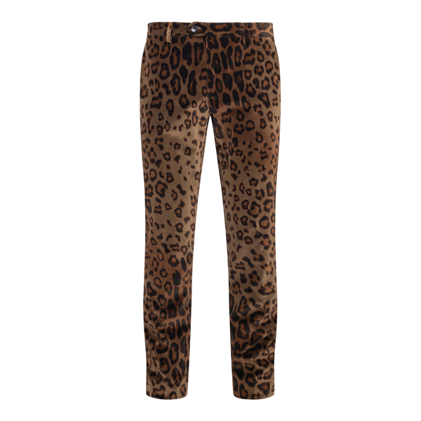 Pantaloni con stampa animalier                                                                                                                        Etro 1P410 retro