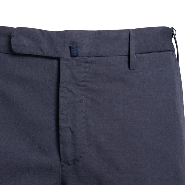 Slim fit trousers in dark blue color                                                                                                                   INCOTEX