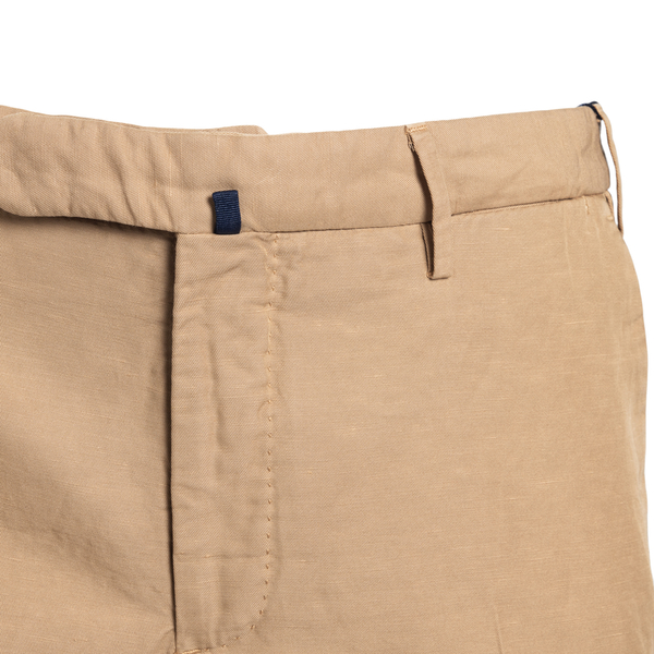 Slim fit trousers in beige color                                                                                                                       INCOTEX