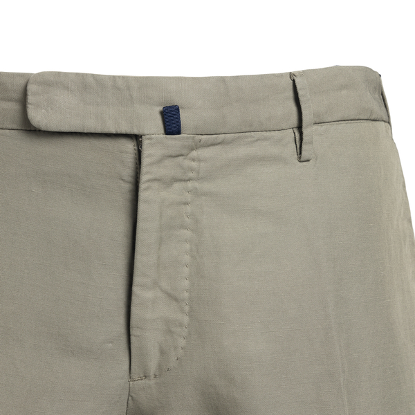 Slim fit trousers in grey color                                                                                                                        INCOTEX