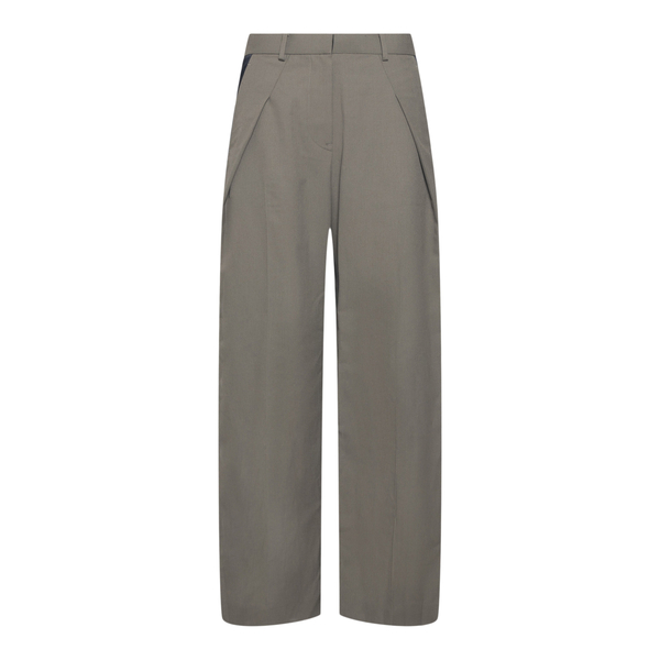 Grey trousers with contrasting band                                                                                                                   Sacai 2105656 back