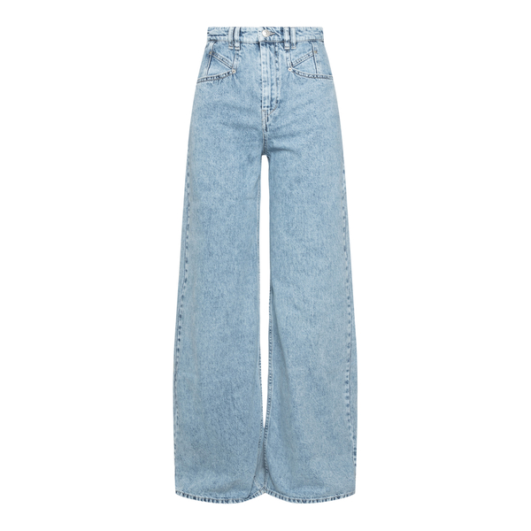 Jeans azzurri a gamba svasata                                                                                                                         Isabel Marant PA1970 back