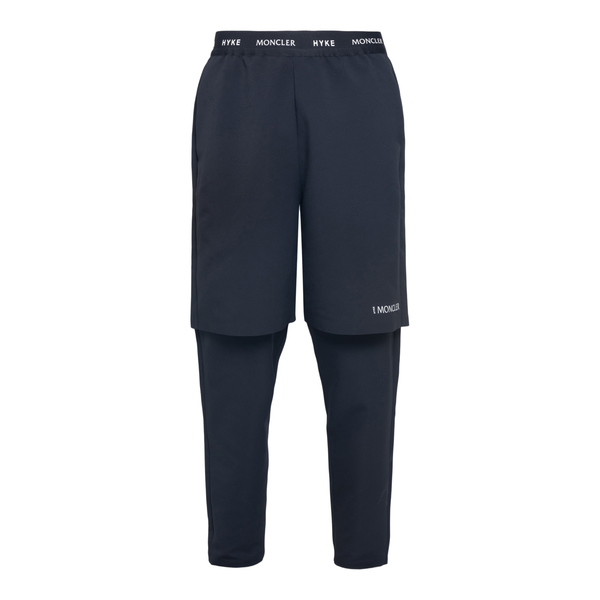 Double jogging trousers                                                                                                                               Moncler Hyke 2A00001 back