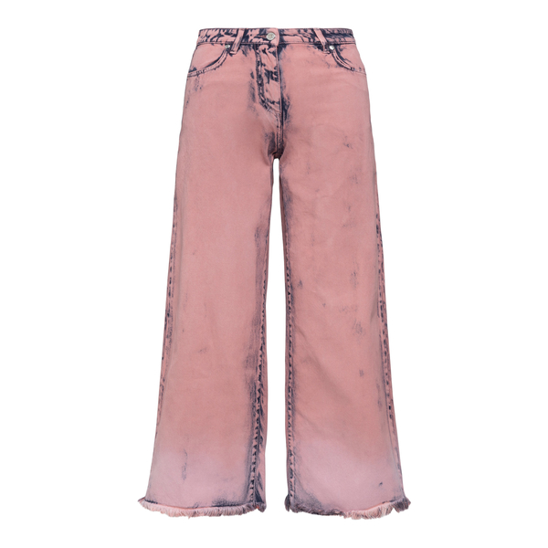 Pantaloni rosa a gamba ampia                                                                                                                          Msgm 3042MDP147LT back