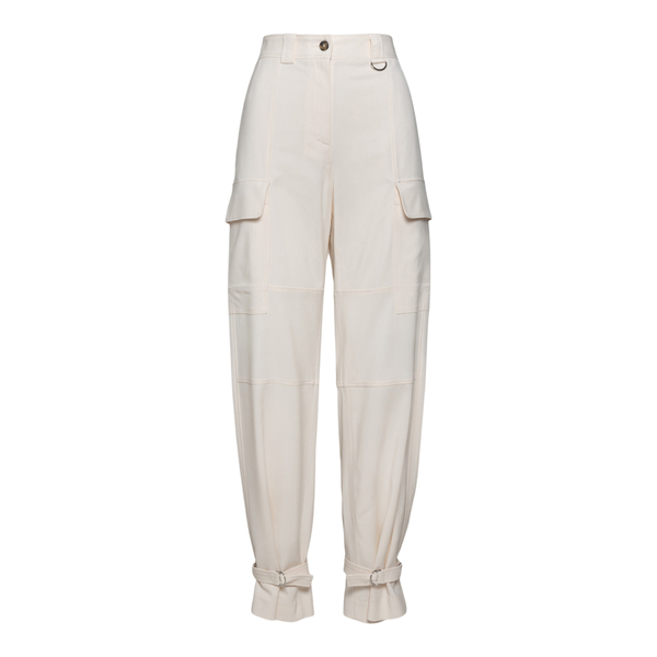 White cargo pants                                                                                                                                     Msgm 3141MDP08 back