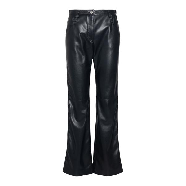 Pantaloni neri effetto pelle                                                                                                                          Msgm 3141MDP09 back
