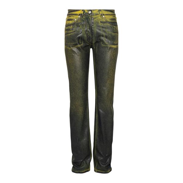 Pantaloni neri con effetto vernice                                                                                                                    Msgm 3142MDP150L retro