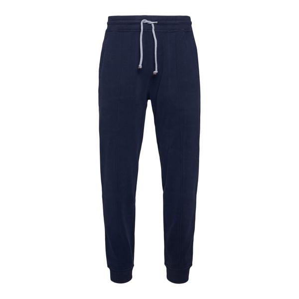 Pantaloni sportivi blu scuro                                                                                                                          Brunello Cucinelli 3202G retro