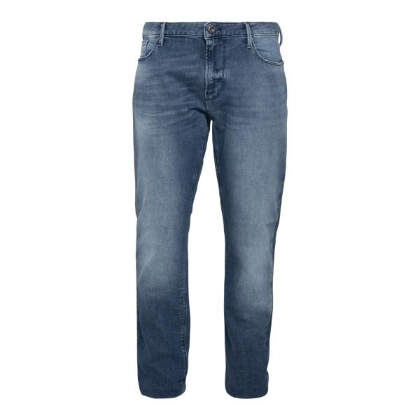 Blue jeans with logo                                                                                                                                  Emporio Armani 3K1J06 back
