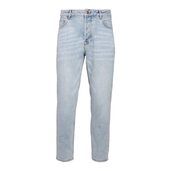 Straight leg blue jeans                                                                                                                               Emporio Armani 3K1J77 back