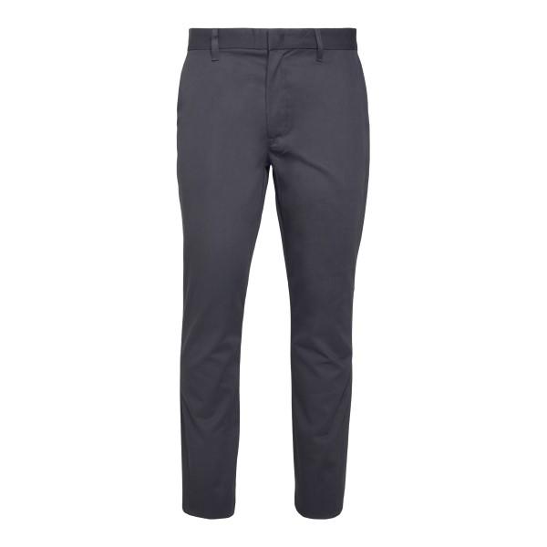 Straight leg grey trousers with logo                                                                                                                  Emporio Armani 3K1P15 back