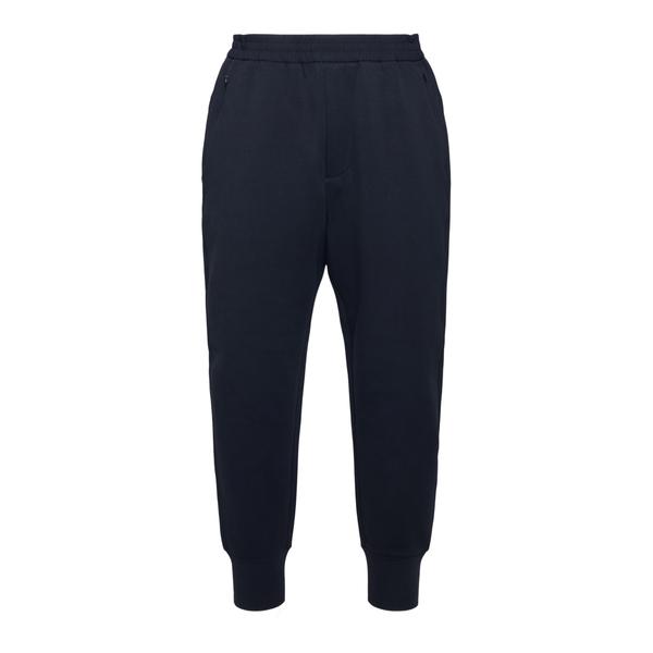 Pantaloni sportivi blu con patch logo                                                                                                                 Emporio Armani 3K1PF5 retro