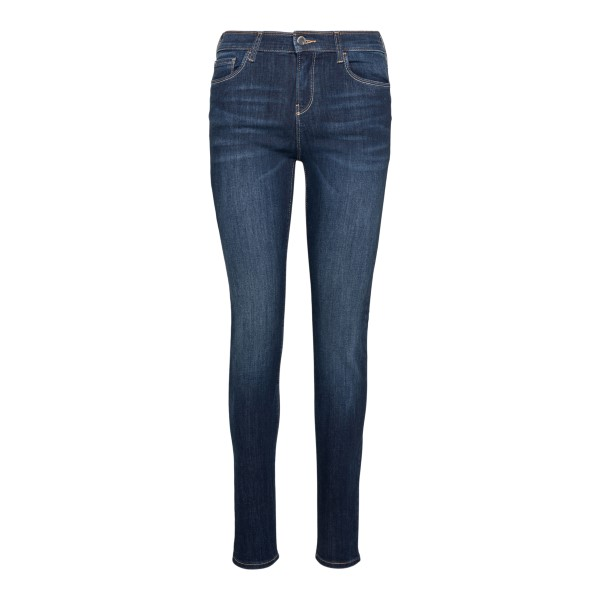 Blue skimmy jeans with logo                                                                                                                           Emporio Armani 3K2J20 front