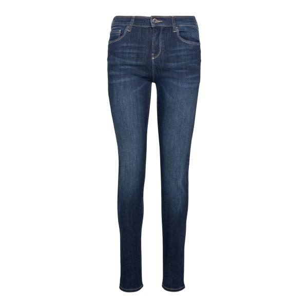 Jeans skimmy blu con logo                                                                                                                             Emporio Armani 3K2J20 retro