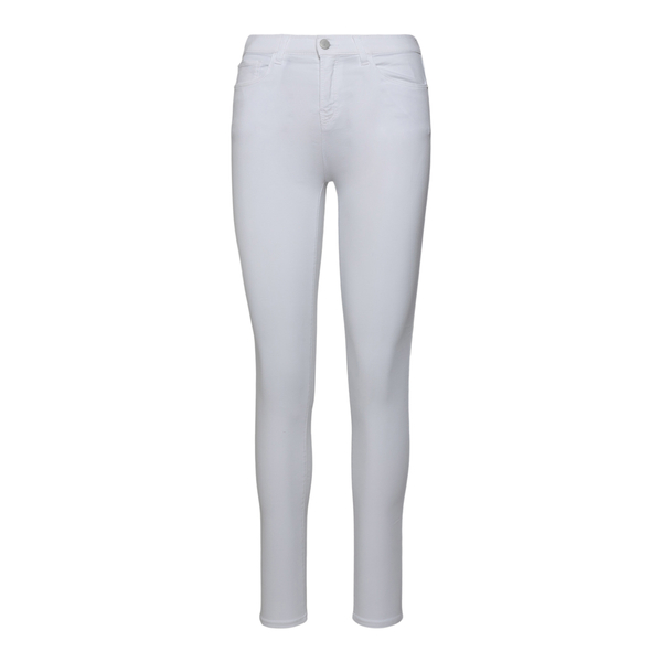 White skinny trousers with logo                                                                                                                       Emporio Armani 3K2J20 back