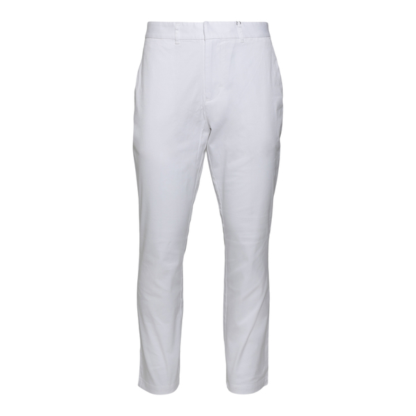 White trousers with logo patch                                                                                                                        Ea7 3KPP01 back