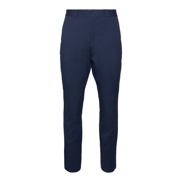 Dark blue trousers with patch                                                                                                                         Ea7 3KPP01 back