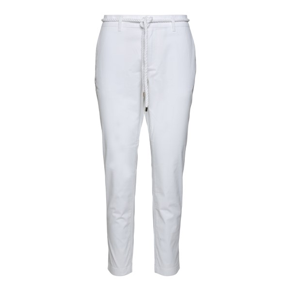White trousers with rope belt                                                                                                                         Ea7 3KTP01 back