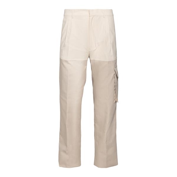 Beige trousers with side pocket                                                                                                                       Botter 5013 back