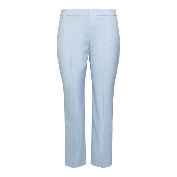 Straight blue trousers                                                                                                                                Alexander Mcqueen 584873 back