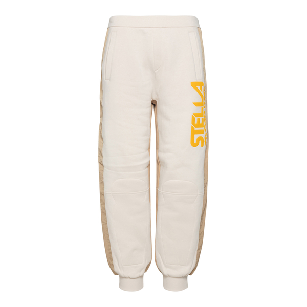 Two-tone sports trousers with brand name                                                                                                              Stella Mccartney 603658 back