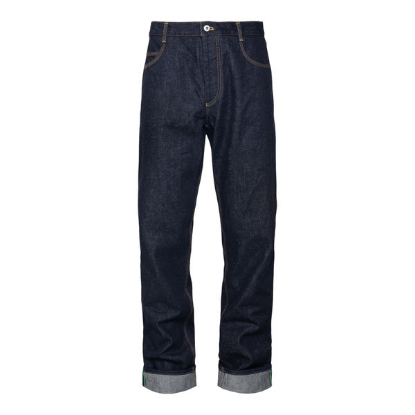 Jeans in blu scuro                                                                                                                                    Bottega Veneta 665079 retro