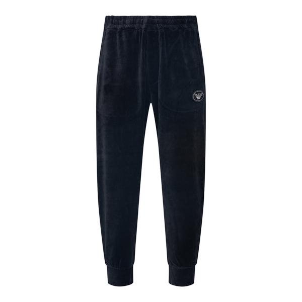 Chenille jogging pants                                                                                                                                Emporio Armani 6K1PA6 back