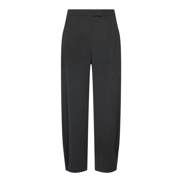 Pantaloni neri con pieghe                                                                                                                             Emporio Armani 6K2P68 retro