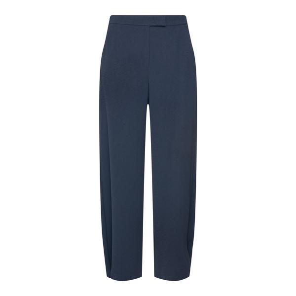 Pantaloni blu con pieghe                                                                                                                              Emporio Armani 6K2P68 retro