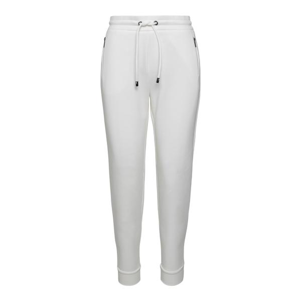 Pantaloni sportivi bianchi con logo                                                                                                                   Emporio Armani 6K2P6E retro